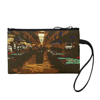 Black Jack and Poker Tables in Las Vegas Coin Wallets