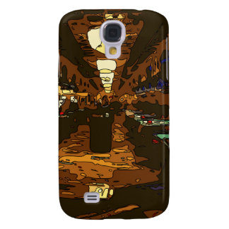 Black Jack and Poker Tables in Las Vegas Samsung Galaxy S4 Covers