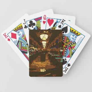 Black Jack and Poker Tables in Las Vegas Bicycle Playing Cards