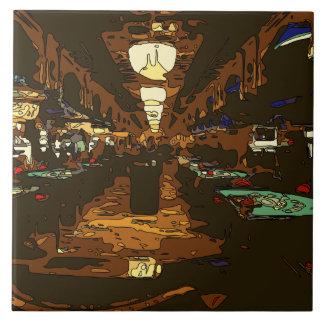 Black Jack and Poker Tables in Las Vegas Tiles