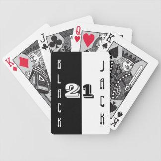 Black Jack Cards Bicycle Card Deck
