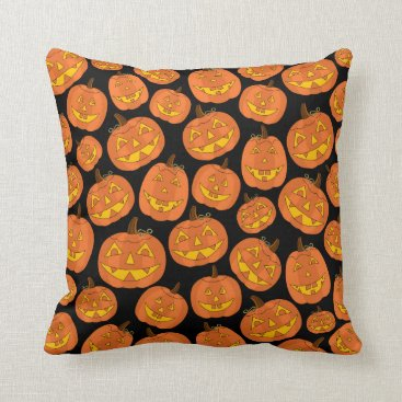 Professional Business Black Jack-O-Lantern Pillow