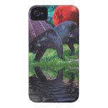 Black Jaguar Fantasy Blackberry Bold Case