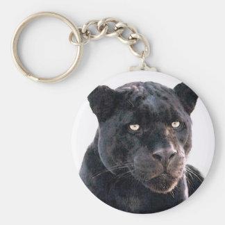 Black Jaguar Keychain