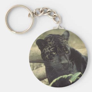Black_jaguar Key Chains