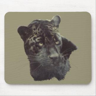Black Jaguar Mousepads