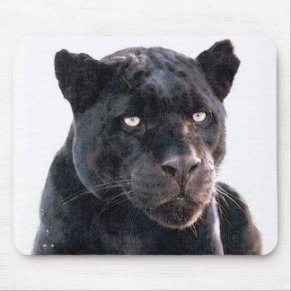 Black Jaguar Mouse Pad