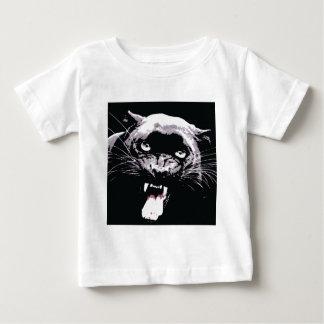 Black Jaguar Panther Baby T-Shirt