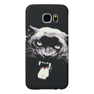 Black Jaguar Panther Samsung Galaxy S6 Case