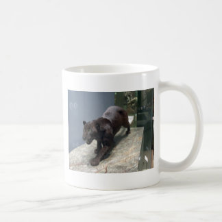 Black Jaguar (Panthera onca) Coffee Mug