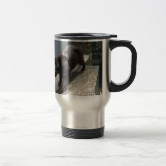 Black Jaguar (Panthera onca) Travel Mug
