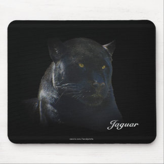 Black Jaguar Wild Cat Animal-Lover Mousepad
