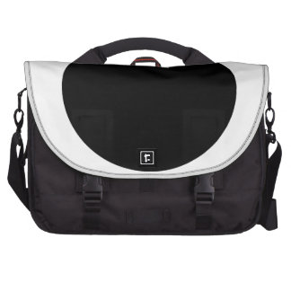 Black Japan Country Flag Commuter Bags