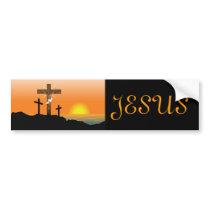 Black Jesus Christ Bumper Sticker