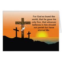 Black Jesus Christ Card
