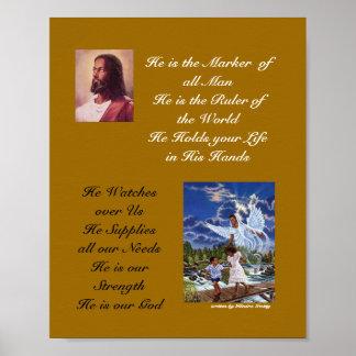 Black Jesus jpg Black Angel jpg He is the Mar Poster