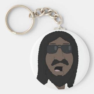 Black Jesus Keychain