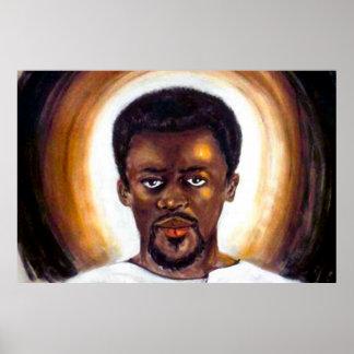 Black Jesus Posters