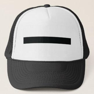 black joist trucker hat
