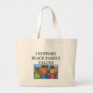 BLACK JUMBO TOTE BAG