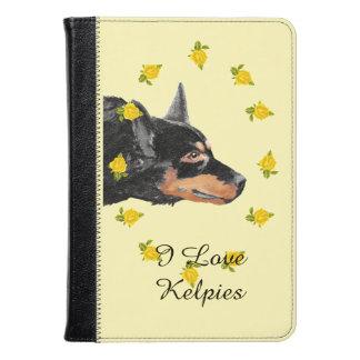 Black Kelpies and Yellow Roses