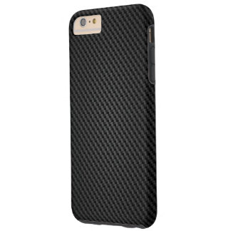 Black Kevlar para-aramid synthetic fiber Texture Tough iPhone 6 Plus Case