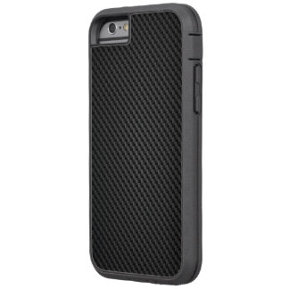 Black Kevlar para-aramid synthetic fiber Texture Tough Xtreme iPhone 6 Case
