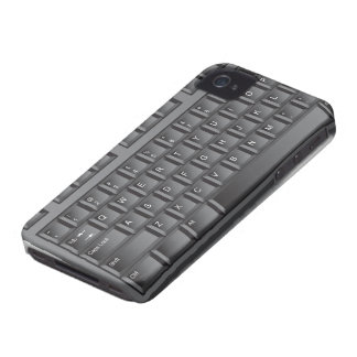 Black Keyboard Case-Mate iPhone 4 Cases