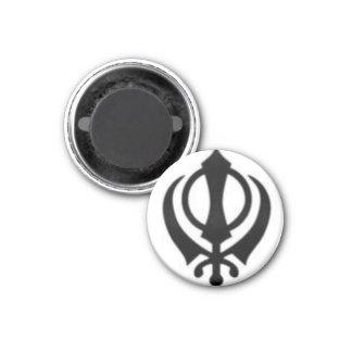 Black Khanda Magnet