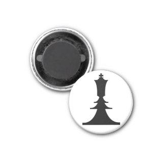 black king 1 inch round magnet