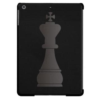 Black king chess piece iPad air covers