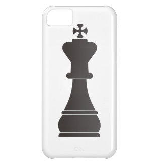 Black king chess piece iPhone 5C cover