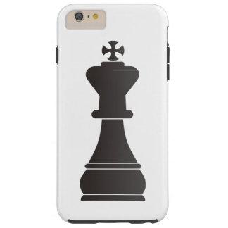 Black king chess piece tough iPhone 6 plus case