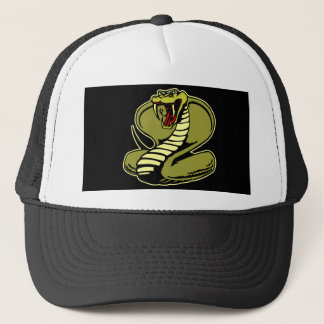 Black King Cobra Trucker Hat