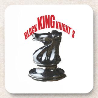 Black King Knight`s Drink Coaster