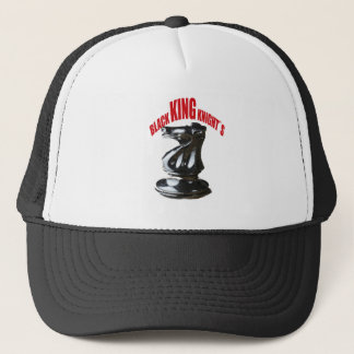 Black King Knight`s Trucker Hat