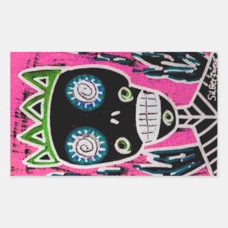 Black King Sugar Skull Angel Sticker