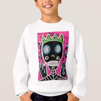 Black King Sugar Skull Angel Sweatshirt