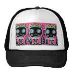 Black King Sugar Skull Angel Truker Hat