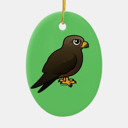 Black Kite Ceramic Ornament