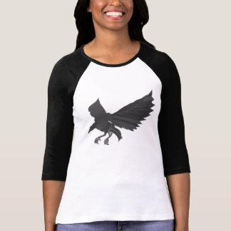 Black Kite In Flight Tee Shirt