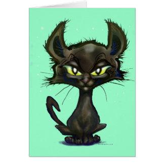 Black Kitten Card