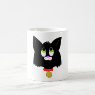 Black Kitten Coffee Mug