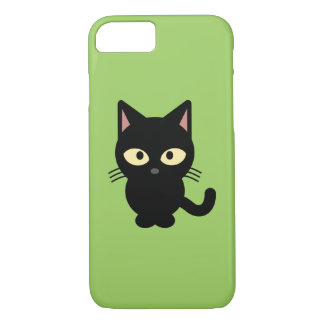 Black Kitten iPhone 8/7 Case