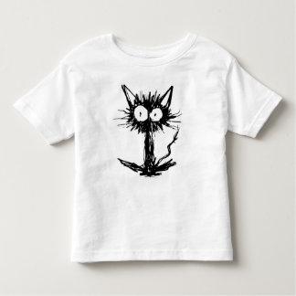Black kitten *Simple Toddler T-shirt