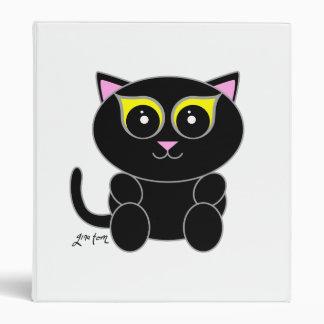 Black Kitty Binder