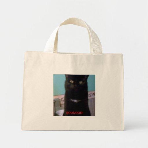 Black Kitty Boooooo! Canvas Bag
