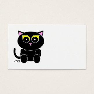 Black Kitty Business Card
