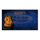 Black Kitty N Pumpkin  invitation_4x925_horizon... Business Cards