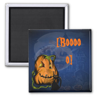 Black Kitty N Pumpkin  Magnets